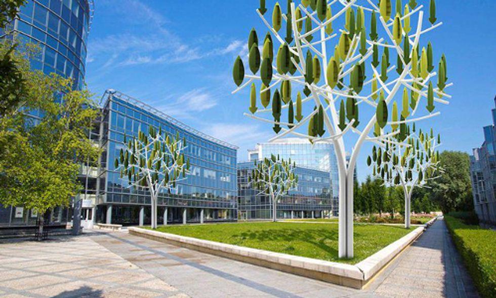 Wind Turbine Trees Generate Renewable Energy for Urban Settings