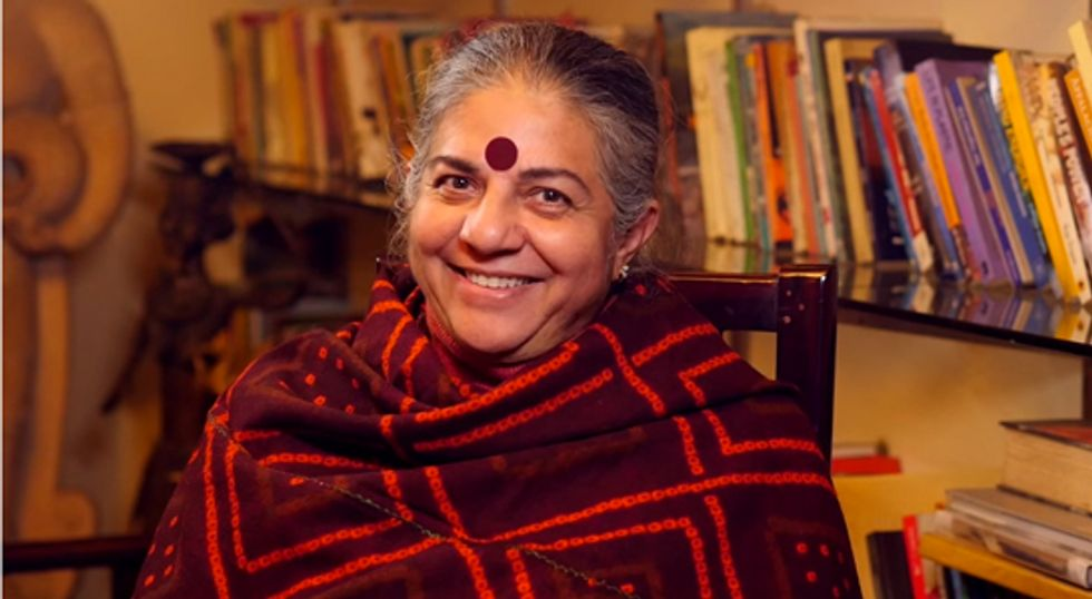 Watch Vandana Shiva: 'We Are All Seeds'