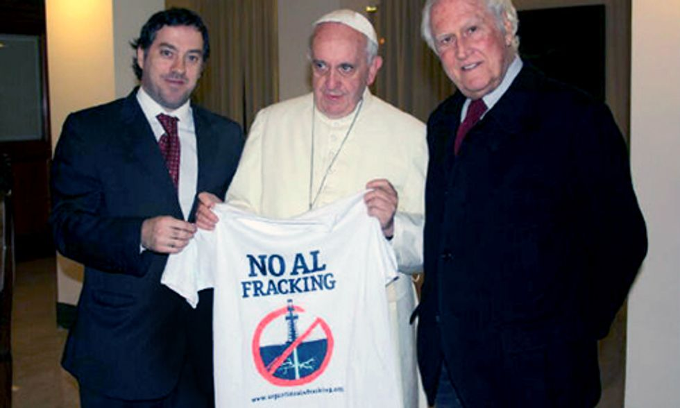 Pope Francis Says No to Fracking