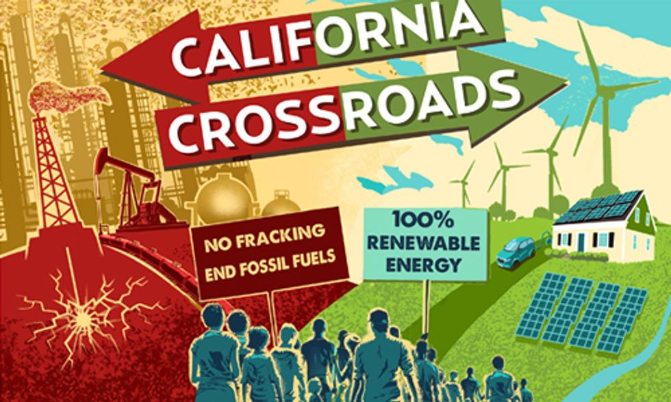 Thousands Call on Gov. Brown to Stand Up to Big Oil and Support 100% Renewable Energy