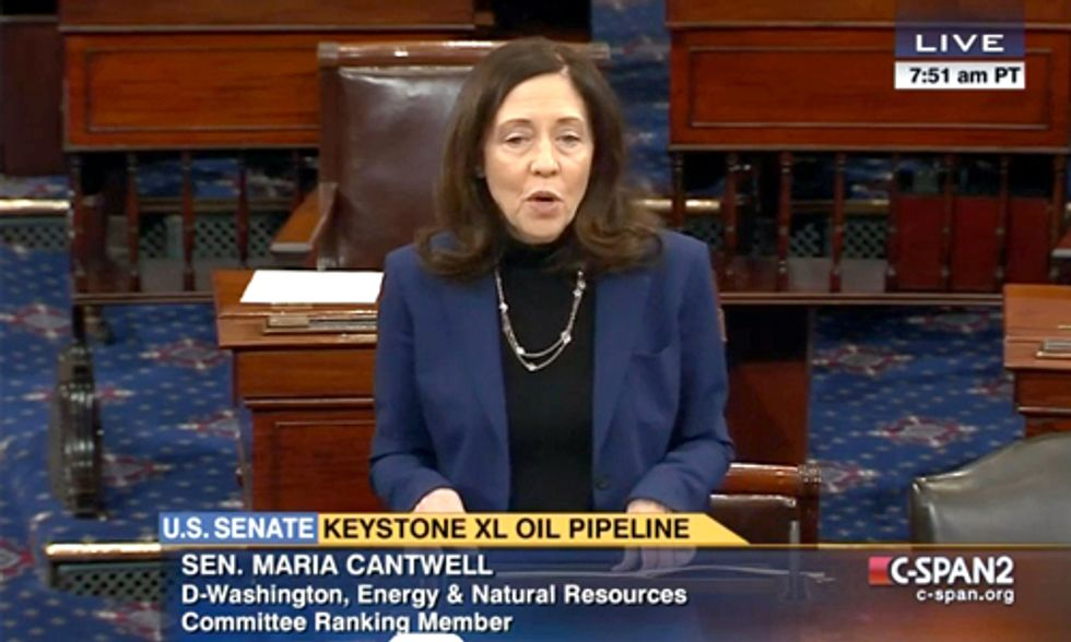 Senate Debates Keystone XL Hitting Hard on Impacts to Climate