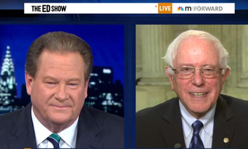 Senator Bernie Sanders Asks: Does Congress Believe Climate Change Is Real?