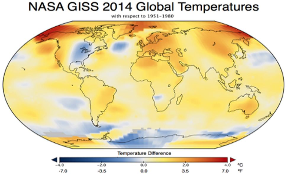2014 Was the Hottest Year on Record
