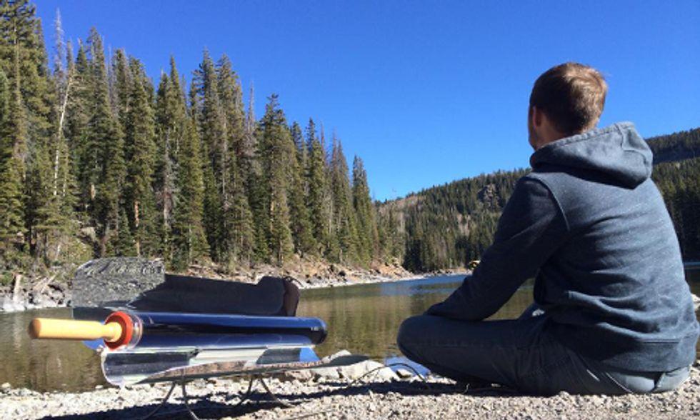 GoSun Portable Stove Reinvents Solar Cooking