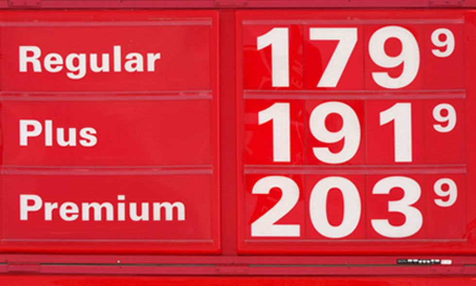Oil Prices Drop As Global Warming Rises