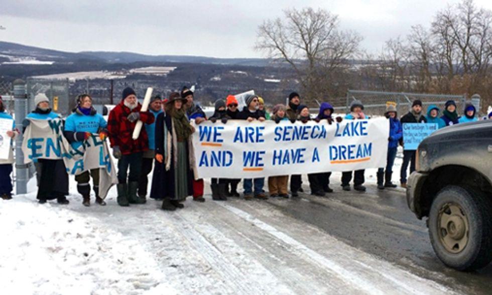 200 Arrests in Ongoing Seneca Lake Uprising
