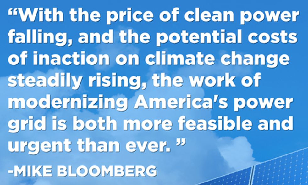 Bloomberg Philanthropies Launches $48M Initiative to Cut Carbon and Spur Investments in Renewables