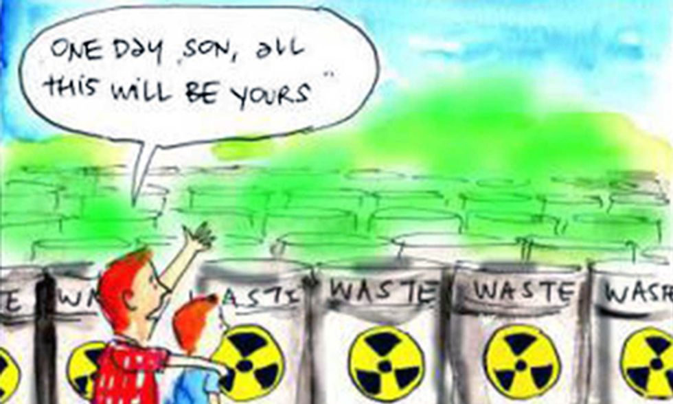 Still No Solution to Storage of High-Level Radioactive Nuclear Waste