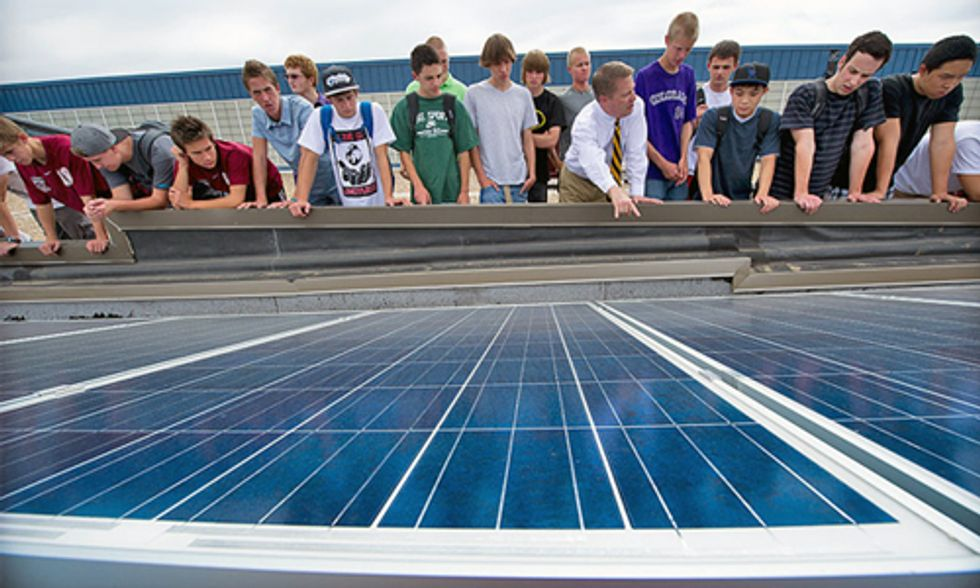 Parents, Teachers and Students Ask School Districts to Go 100% Renewable Energy