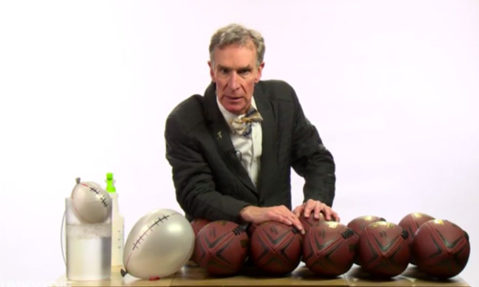 Bill Nye Says 'Give a F**k' About Climate Change and Forget 'Deflategate'