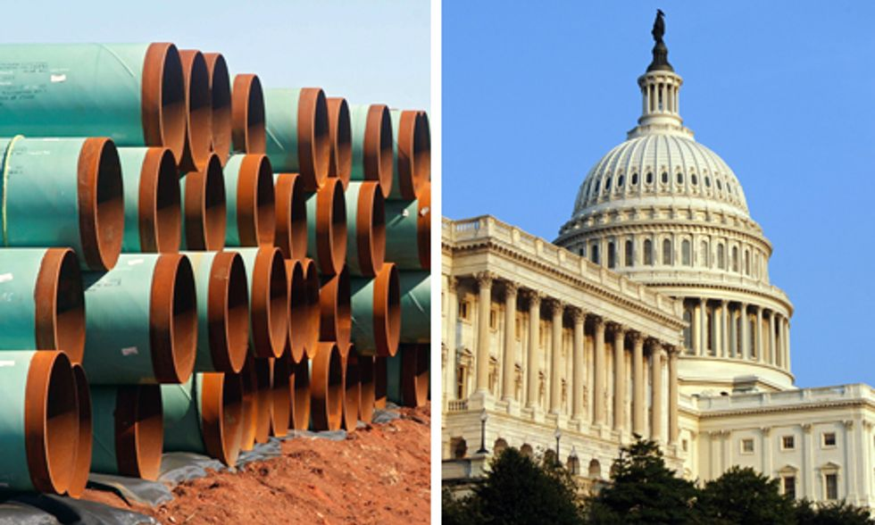 Breaking: Senate Passes Keystone XL Pipeline Bill
