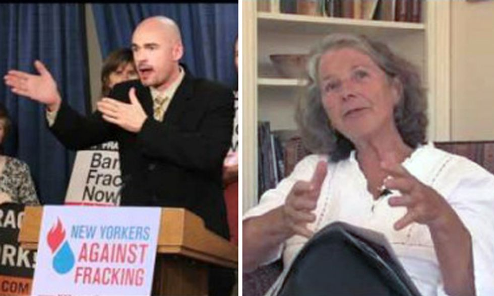 Anti-Fracking and No Nukes Activists Join Forces Demanding Renewable Energy Revolution