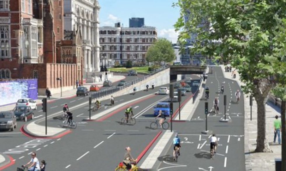 Plans Underway for World's First Bicycle Superhighway