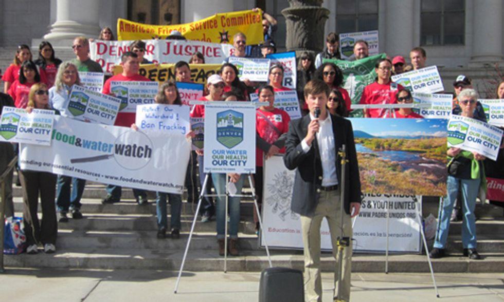 'Don't Frack Denver' Coalition Urges Mayor and City Council to Enact Immediate Moratorium