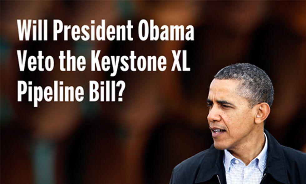 House Passes Keystone XL, Bill Heads to Obama's Desk