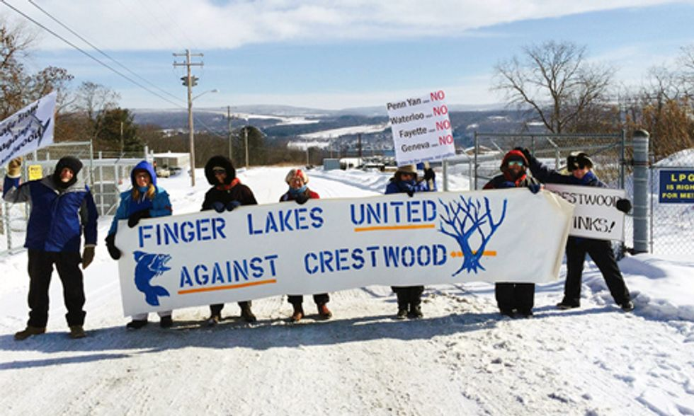 Dispatches from the Seneca Lake Uprising