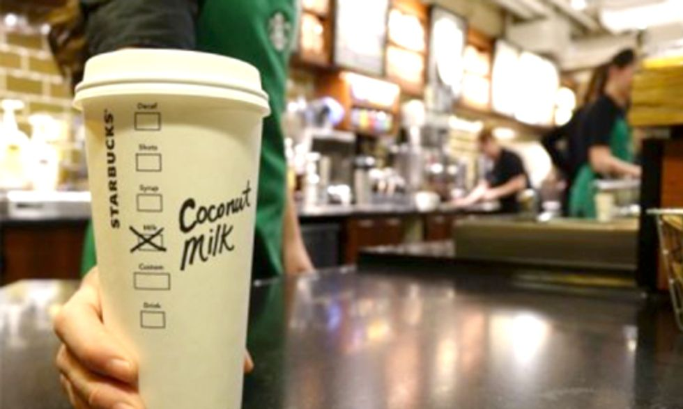 Starbucks Adds Coconut Milk to Its Menu, But Should You Order It?