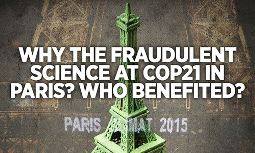 The Fraudulent Science at COP21 Exposed