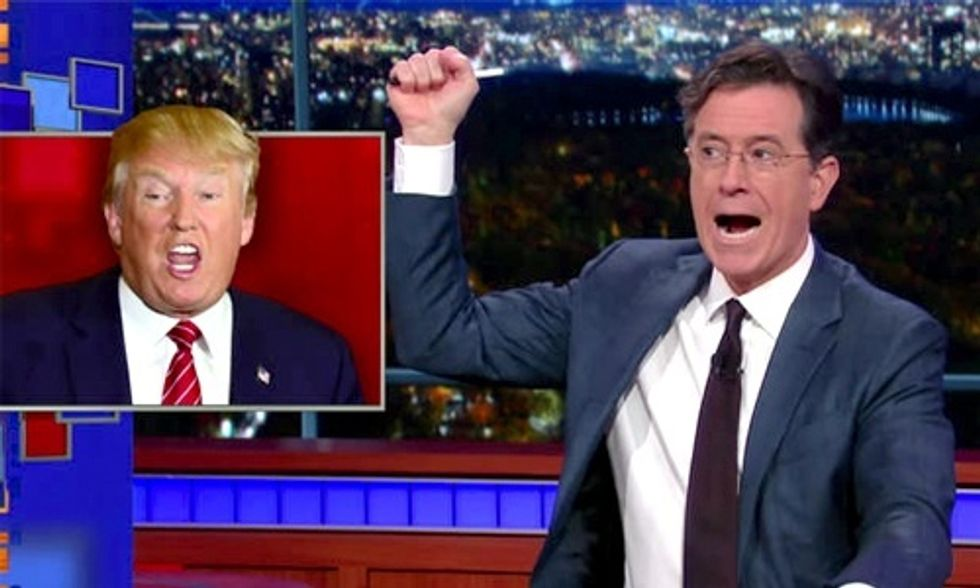 Watch Colbert Unleash on Trump in Hilarious GOP Debate Recap
