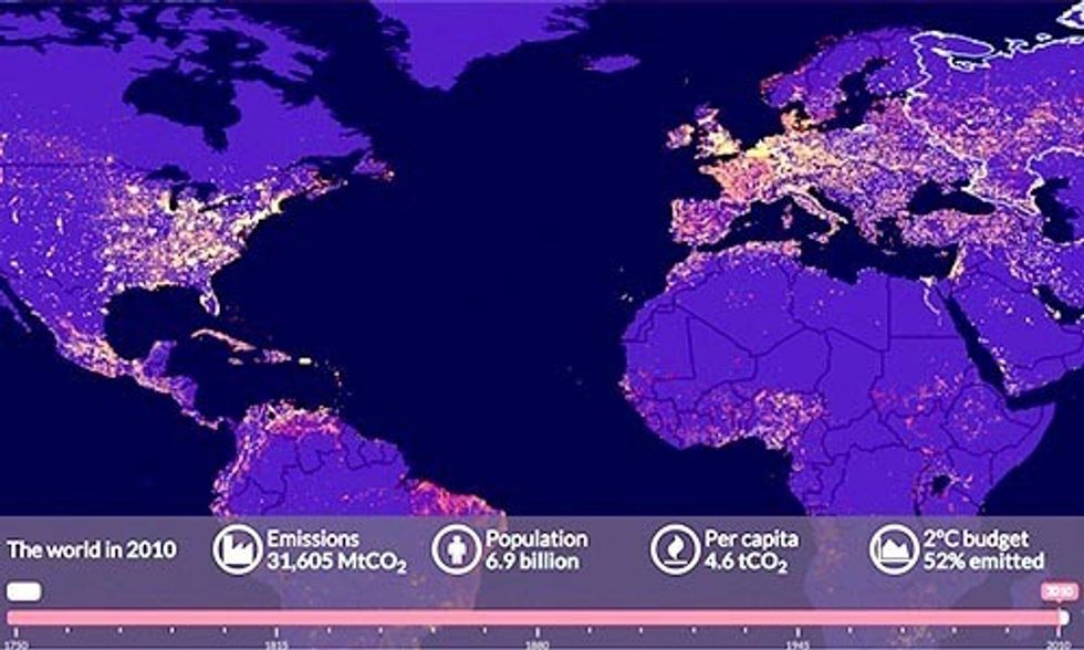 Interactive Map: Find Out Which Country Is Most Responsible for Climate Change