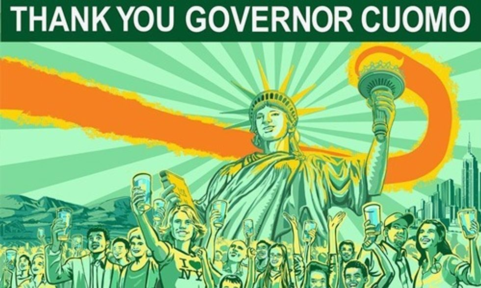 New Yorkers Celebrate One-Year Anniversary of Fracking Ban