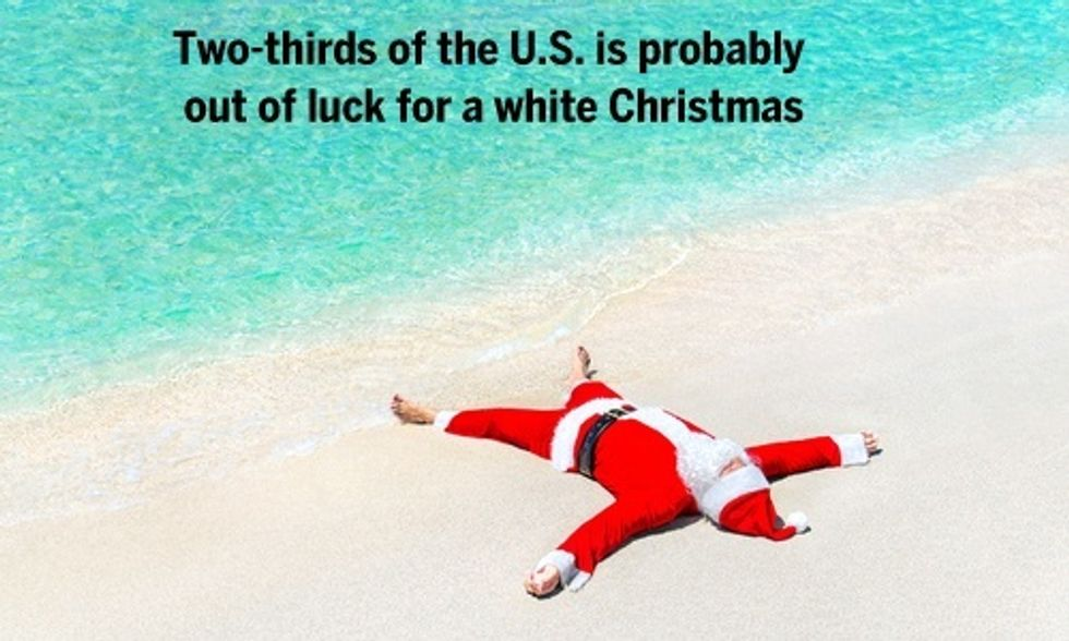 Will This Christmas Be the Warmest of Your Lifetime?