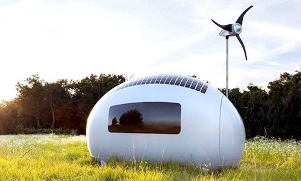 World's First Off-Grid EcoCapsule Runs Entirely on Renewable Energy