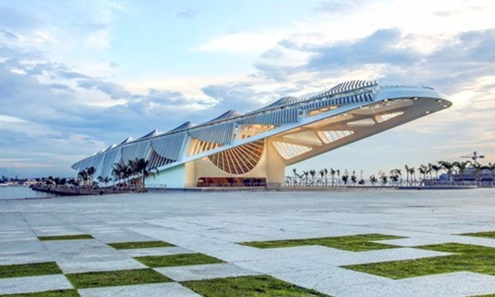 Rio's Museum of Tomorrow Illustrates Humans' Impact on the Earth