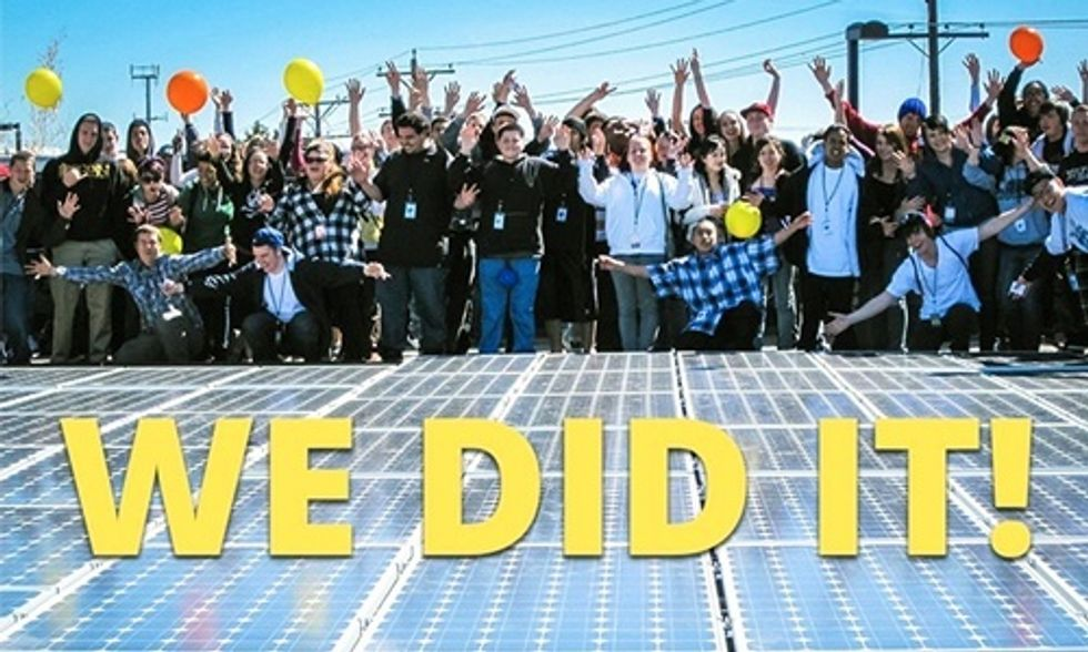 2015: A Banner Year for Solar Energy
