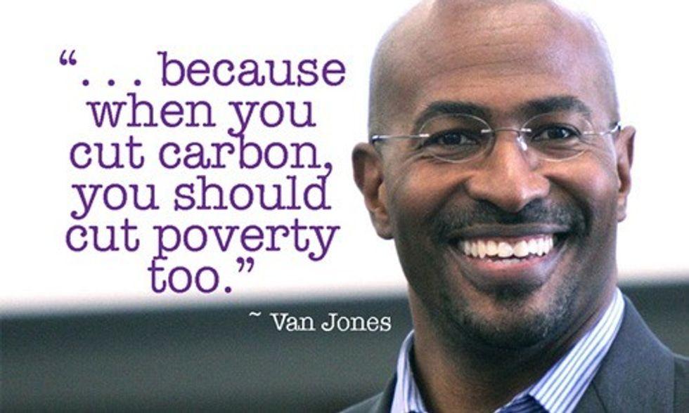 Van Jones: 'When You Cut Carbon, You Should Cut Poverty Too'