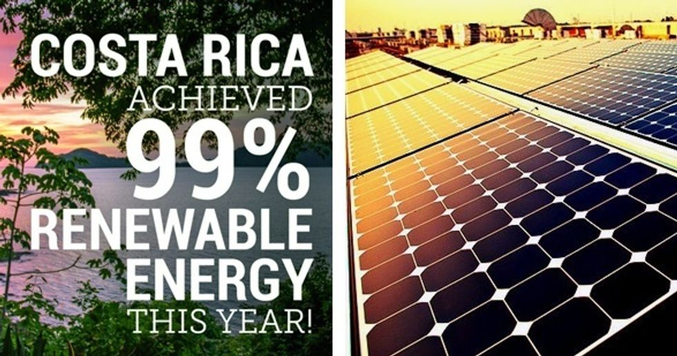 Costa Rica Powers 285 Days of 2015 With 100% Renewable Energy