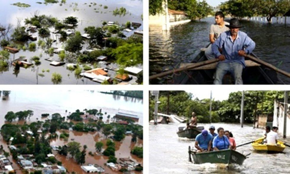 160,000 Flee Their Homes as Devastating Flooding Hits South America