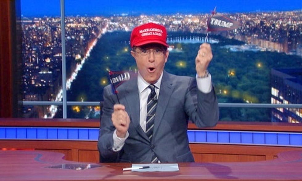 13 of Colbert's Most Hilarious Moments of 2015