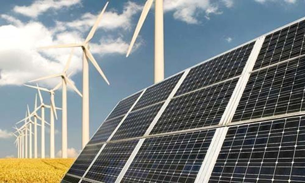 Renewable Energy Soars Amid Plummeting Fossil Fuel Prices