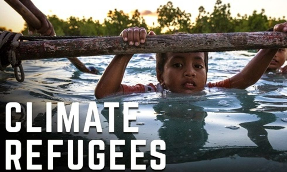 Meet the World's First Climate Refugees