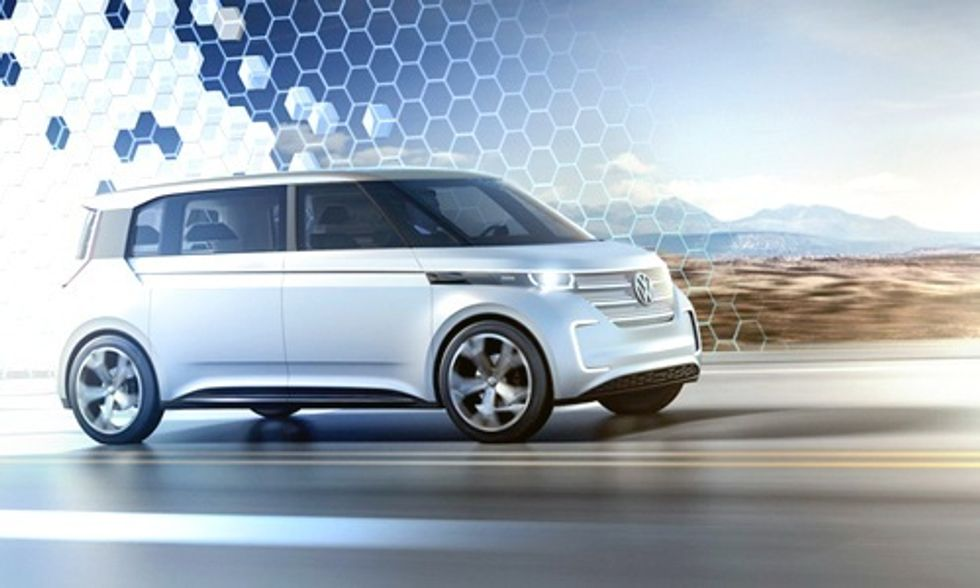 The Volkswagen Hippie Bus Is Back and Now It's Electric