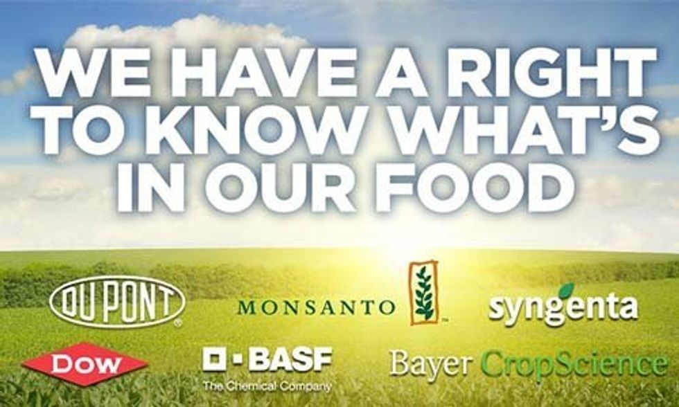 We Have a Right to Know What's in Our Food!