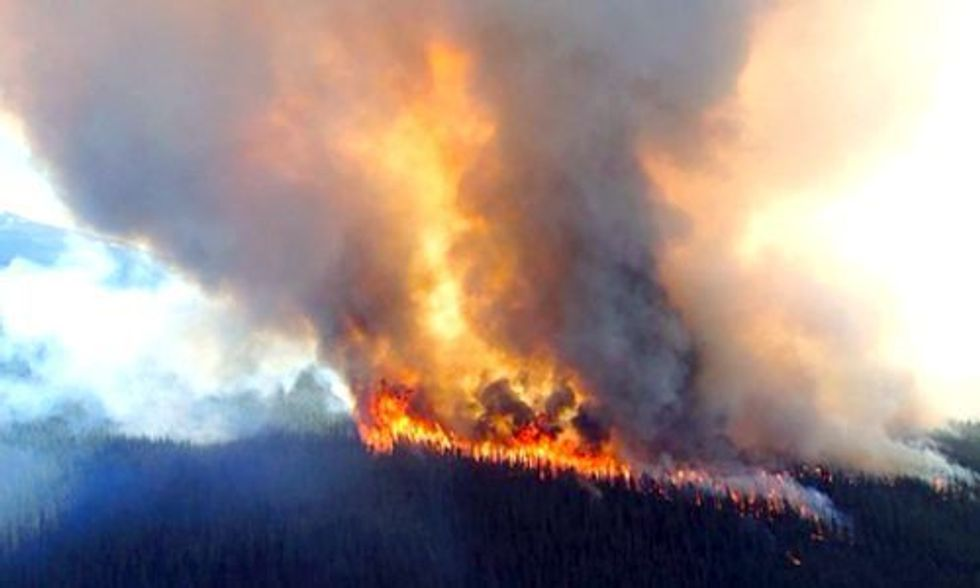 2015 Wildfire Season Shatters National Record With 10 Million Acres Burned