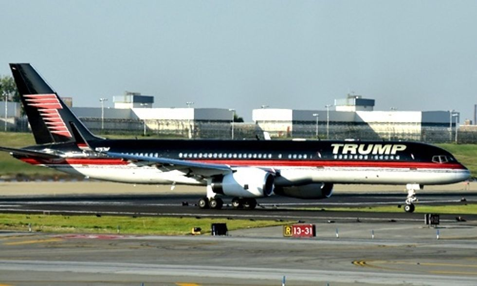 Donald Trump Slapped With Fine for Pollution From His Private Jet