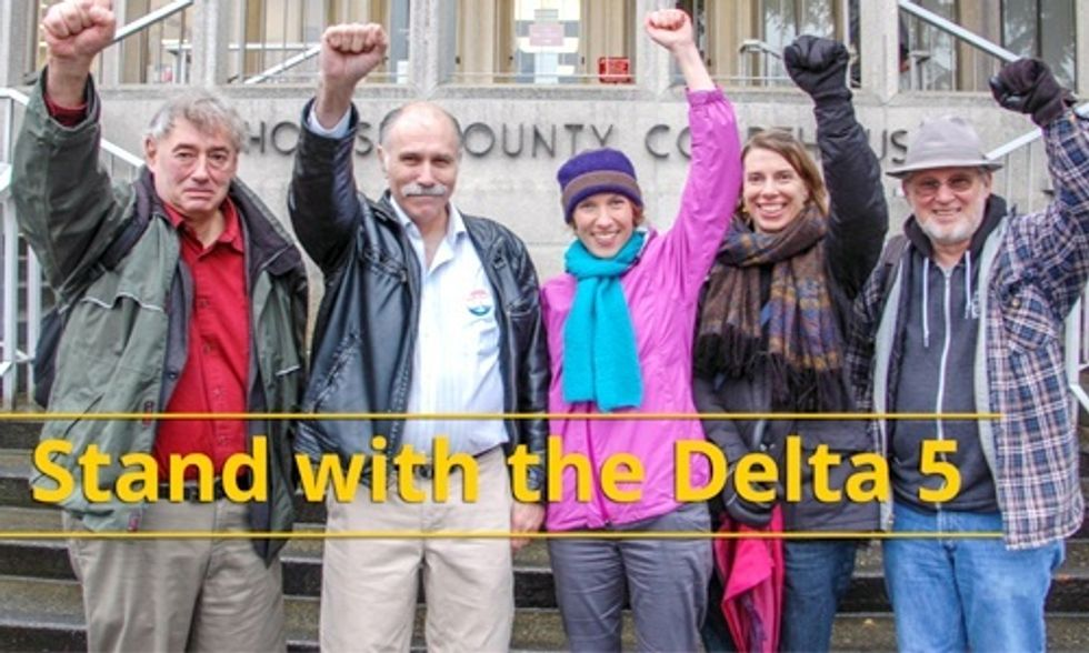 History Will Be Made Today as the Delta 5 Head to Court