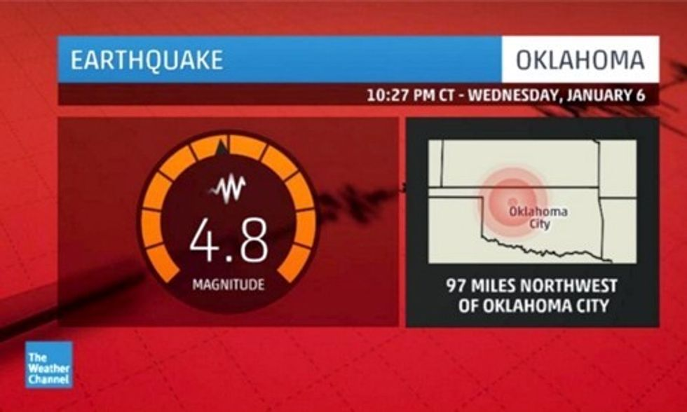 70 More Earthquakes Hit Oklahoma, Averaging Nearly Three a Day in 2015