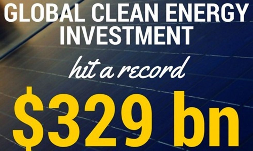 Renewables Saw More Money Invested and More Capacity Added in 2015 Than Ever Before