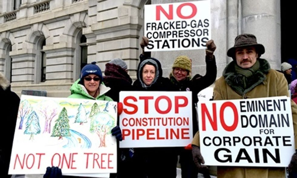 Banning Fracking Isn't Enough: How We Fight to Stop Pipelines, Compressor Stations and Gas Plants