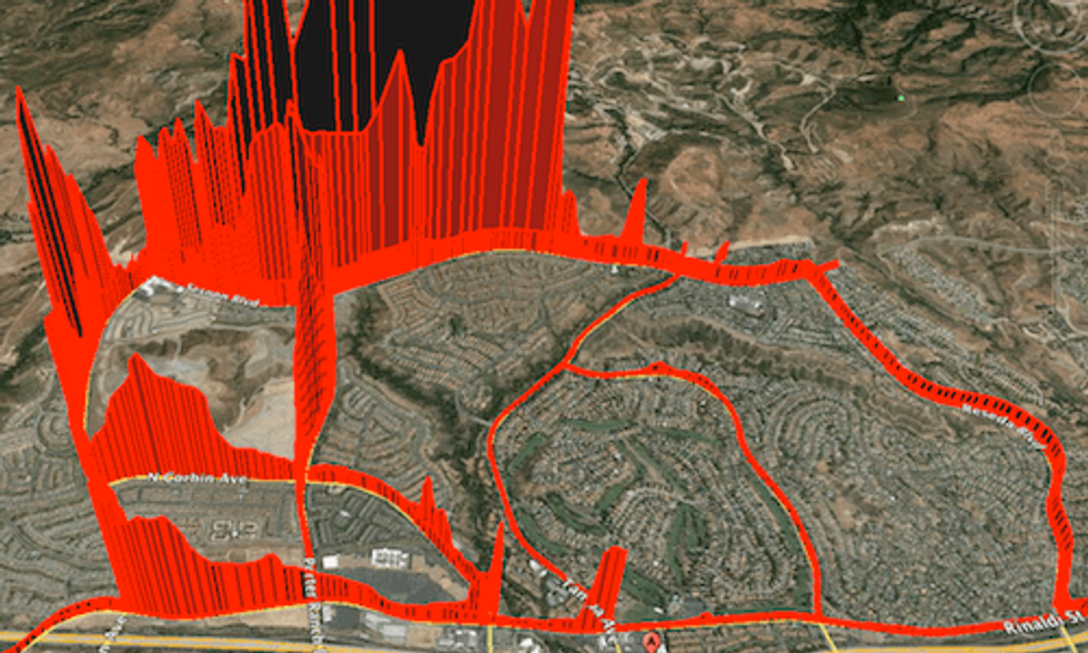 Porter Ranch Methane Leak Spreads Across LA's San Fernando Valley
