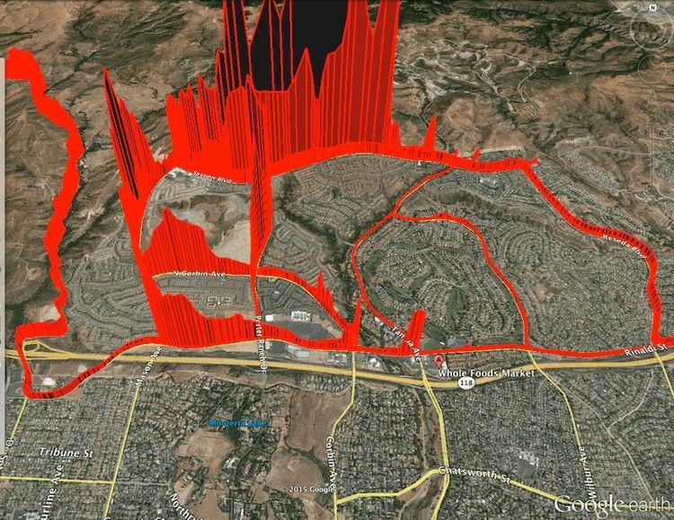 Porter Ranch Methane Leak Spreads Across LA's San Fernando