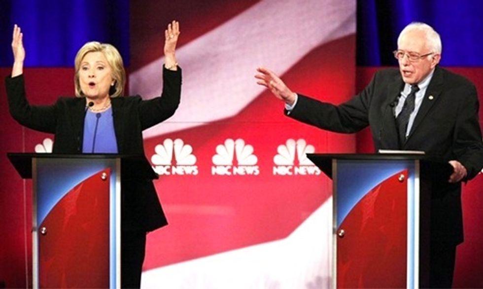 Sparks Fly Between Clinton and Sanders During Dem Debate