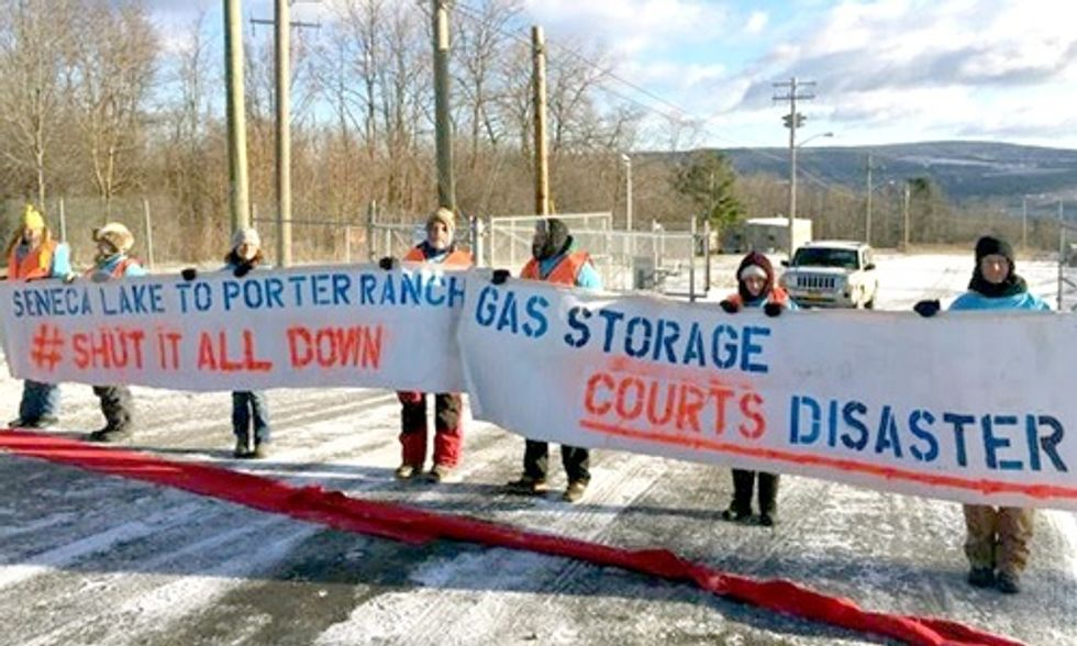 7 Arrested in Solidarity With the People of Porter Ranch