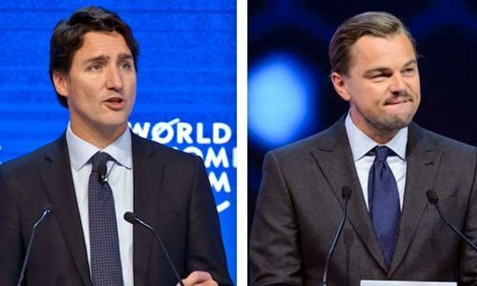 Canada's Trudeau to DiCaprio: Tone Down 'Inflammatory Rhetoric' on Climate Change