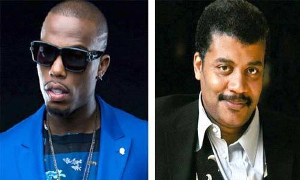 Neil deGrasse Tyson Schools Rapper B.o.B. Who Believes the Earth Is Flat