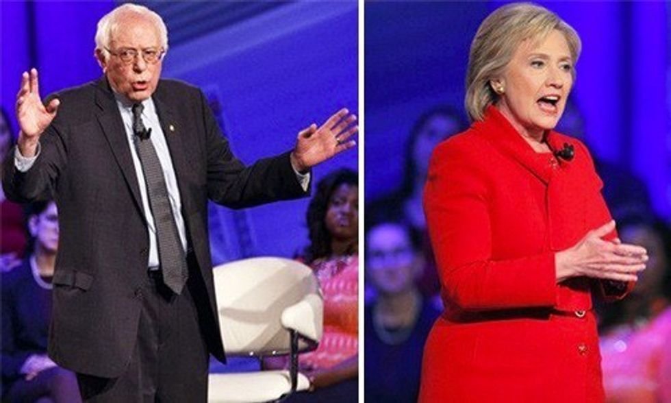 Sanders vs. Clinton: Hard Hitting Final Pitches to Iowa Voters